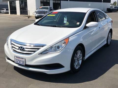 2014 Hyundai Sonata for sale at Dow Lewis Motors in Yuba City CA