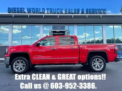2018 GMC Sierra 1500 for sale at Diesel World Truck Sales in Plaistow NH