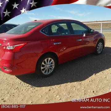 2017 Nissan Sentra for sale at BENHAM AUTO INC in Lubbock TX