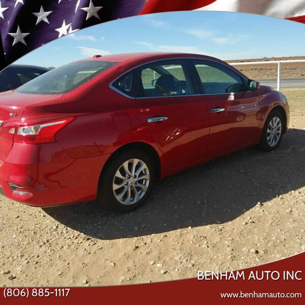 2017 Nissan Sentra for sale at BENHAM AUTO INC in Lubbock TX