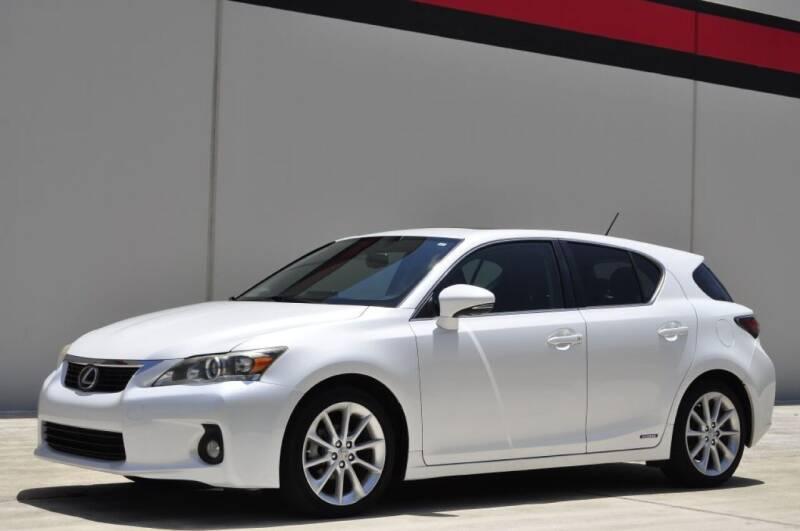 2012 Lexus CT 200h for sale at Vision Motors, Inc. in Winter Garden FL