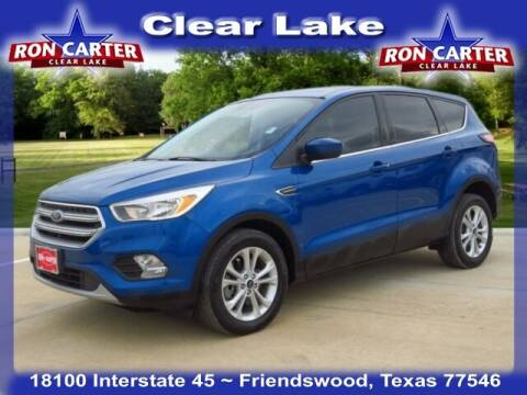 2017 Ford Escape for sale at Ron Carter  Clear Lake Used Cars in Houston TX