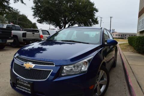 2012 Chevrolet Cruze for sale at E-Auto Groups in Dallas TX