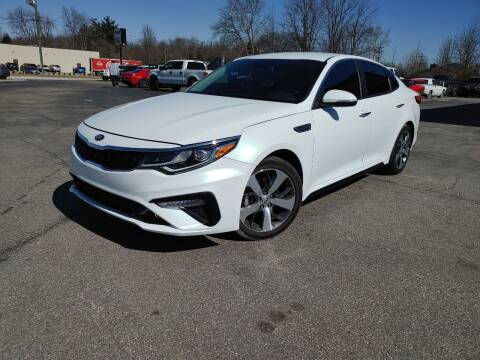 2020 Kia Optima for sale at Cruisin' Auto Sales in Madison IN