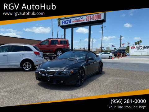 2005 BMW 6 Series for sale at RGV AutoHub in Harlingen TX