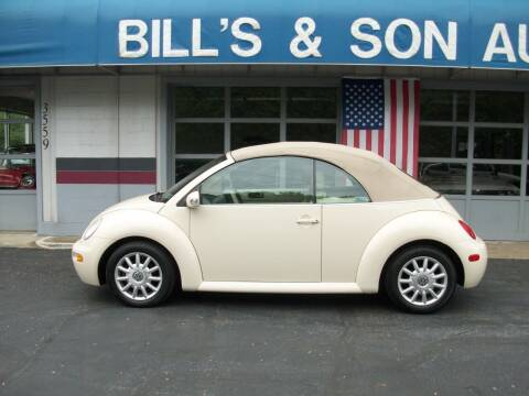 2004 Volkswagen New Beetle for sale at Bill's & Son Auto/Truck Inc in Ravenna OH