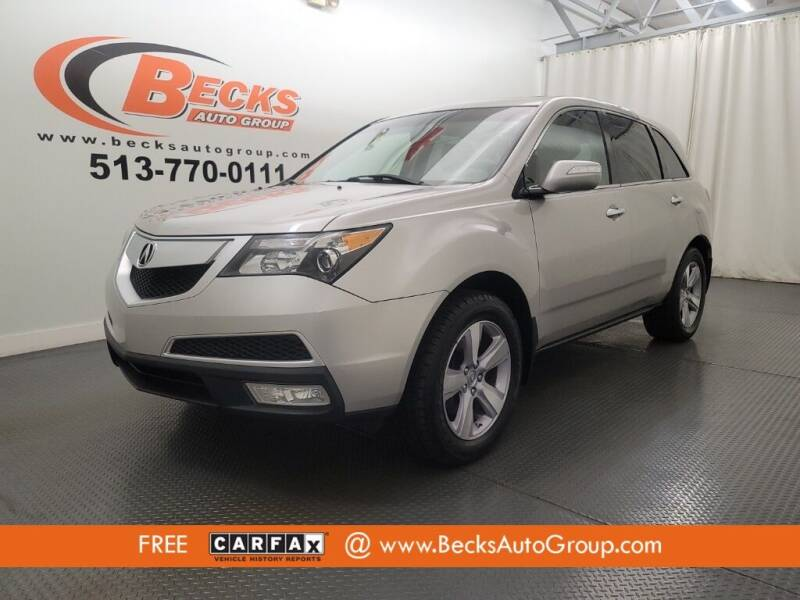 2013 Acura MDX for sale at Becks Auto Group in Mason OH