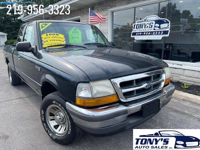 1998 Ford Ranger for sale at Tonys Auto Sales Inc in Wheatfield IN
