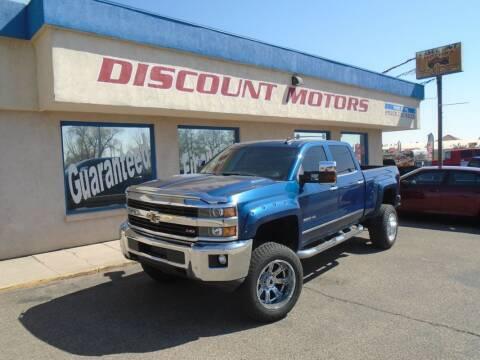 2015 Chevrolet Silverado 2500HD for sale at Discount Motors in Pueblo CO