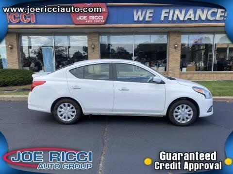 2019 Nissan Versa for sale at JOE RICCI AUTOMOTIVE in Clinton Township MI