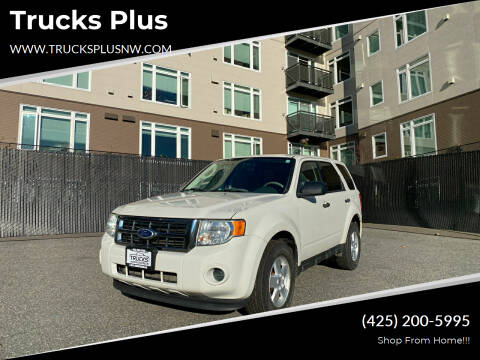 2010 Ford Escape for sale at Trucks Plus in Seattle WA