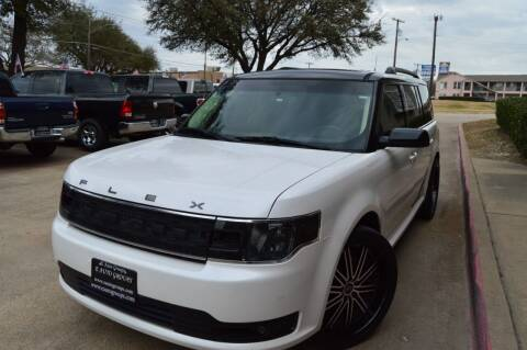 2014 Ford Flex for sale at E-Auto Groups in Dallas TX