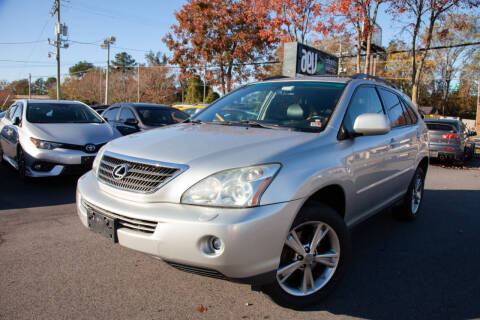 2007 Lexus RX 400h for sale at EXCLUSIVE MOTORS in Virginia Beach VA