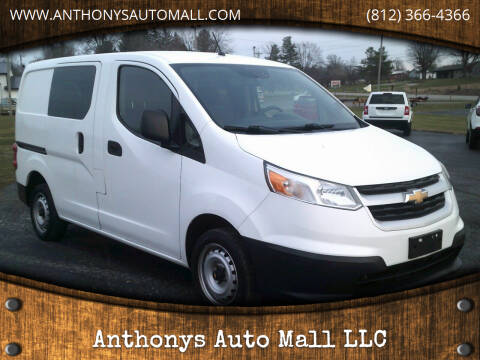 2016 Chevrolet City Express Cargo for sale at Anthonys Auto Mall LLC in New Salisbury IN