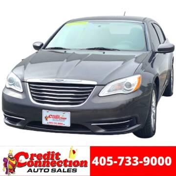 2014 Chrysler 200 for sale at Credit Connection Auto Sales in Midwest City OK