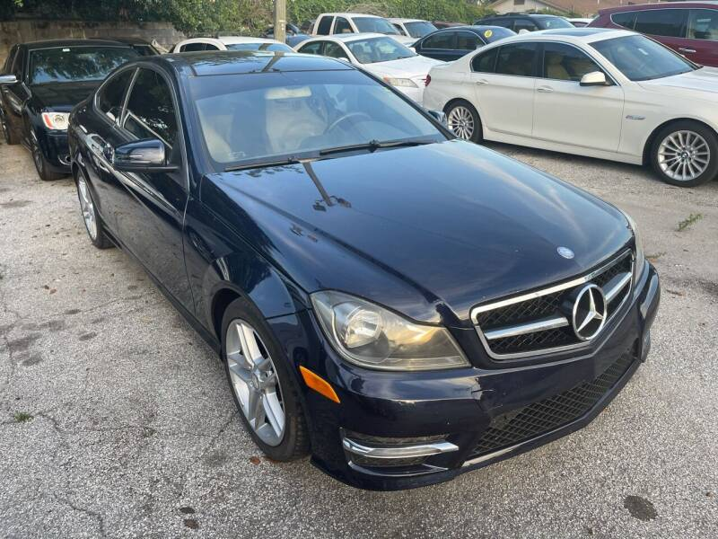 2013 Mercedes-Benz C-Class for sale at P J Auto Trading Inc in Orlando FL