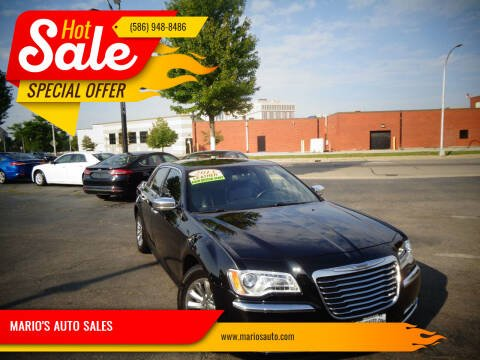 2013 Chrysler 300 for sale at MARIO'S AUTO SALES in Mount Clemens MI