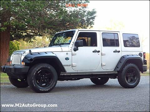 2012 Jeep Wrangler Unlimited for sale at M2 Auto Group Llc. EAST BRUNSWICK in East Brunswick NJ