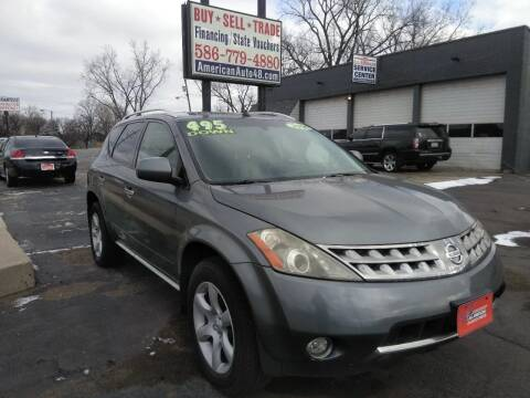2006 Nissan Murano for sale at D and D All American Financing in Warren MI