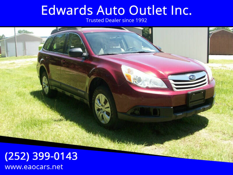 2011 Subaru Outback for sale at Edwards Auto Outlet Inc. in Wilson NC
