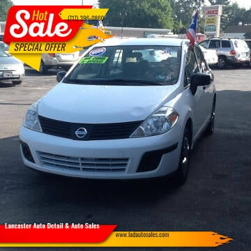 2009 Nissan Versa for sale at Lancaster Auto Detail & Auto Sales in Lancaster PA