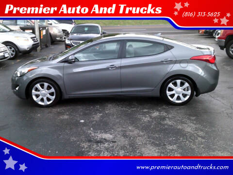 2013 Hyundai Elantra for sale at Premier Auto And Trucks in Independence MO