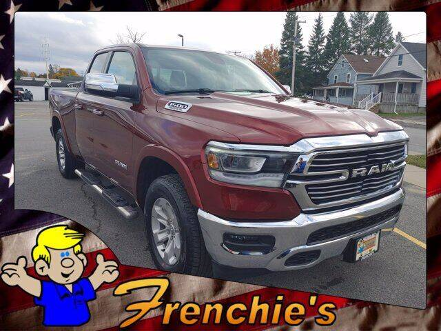 2020 RAM Ram Pickup 1500 for sale at Frenchie's Chevrolet and Selects in Massena NY