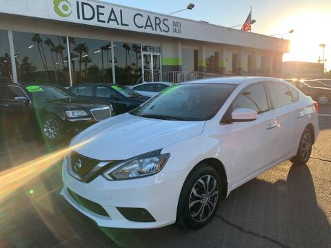 2017 Nissan Sentra for sale at Ideal Cars in Mesa AZ