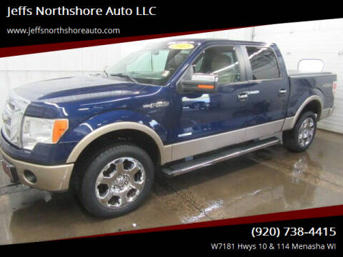 2012 Ford F-150 for sale at Jeffs Northshore Auto LLC in Menasha WI