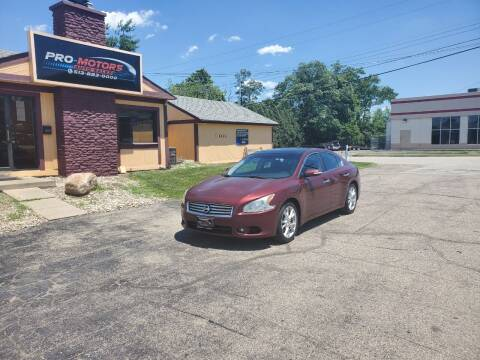 2012 Nissan Maxima for sale at Pro Motors in Fairfield OH
