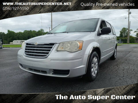 2010 Chrysler Town and Country for sale at The Auto Super Center in Centre AL