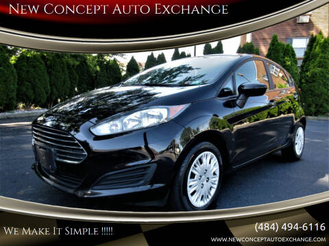 2016 Ford Fiesta for sale at New Concept Auto Exchange in Glenolden PA