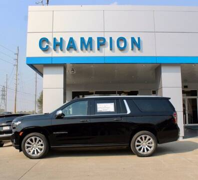 2021 Chevrolet Suburban for sale at Champion Chevrolet in Athens AL