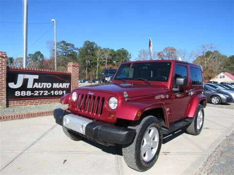 2011 Jeep Wrangler for sale at J T Auto Group in Sanford NC