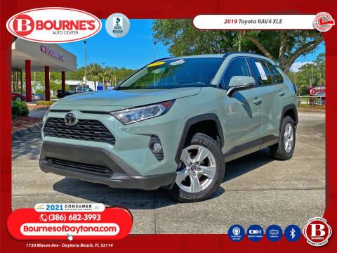 2019 Toyota RAV4 for sale at Bourne's Auto Center in Daytona Beach FL