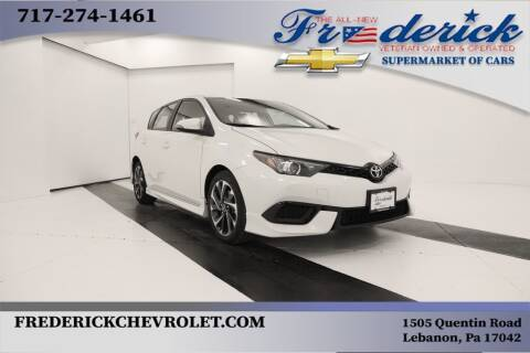 2018 Toyota Corolla iM for sale at Lancaster Pre-Owned in Lancaster PA