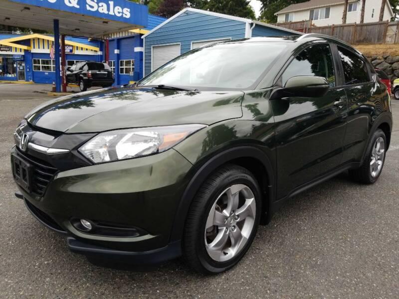 2016 Honda HR-V for sale at Shoreline Family Auto Sales in Shoreline WA