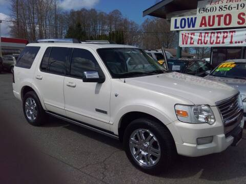 2007 Ford Explorer for sale at Low Auto Sales in Sedro Woolley WA