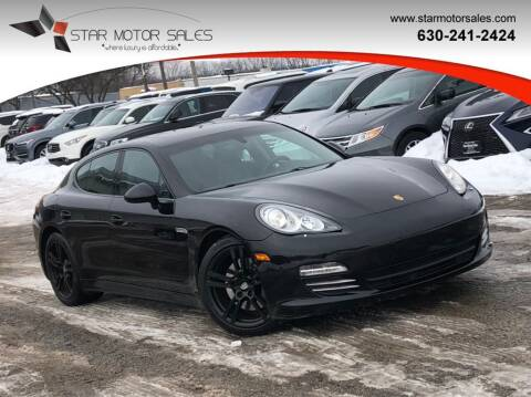 2012 Porsche Panamera for sale at Star Motor Sales in Downers Grove IL