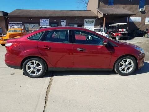 2014 Ford Focus for sale at J.R.'s Truck & Auto Sales, Inc. in Butler PA