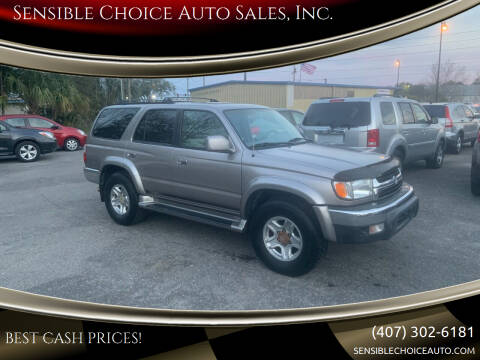 2002 Toyota 4Runner for sale at Sensible Choice Auto Sales, Inc. in Longwood FL