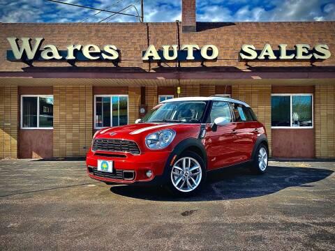 2013 MINI Countryman for sale at Wares Auto Sales INC in Traverse City MI