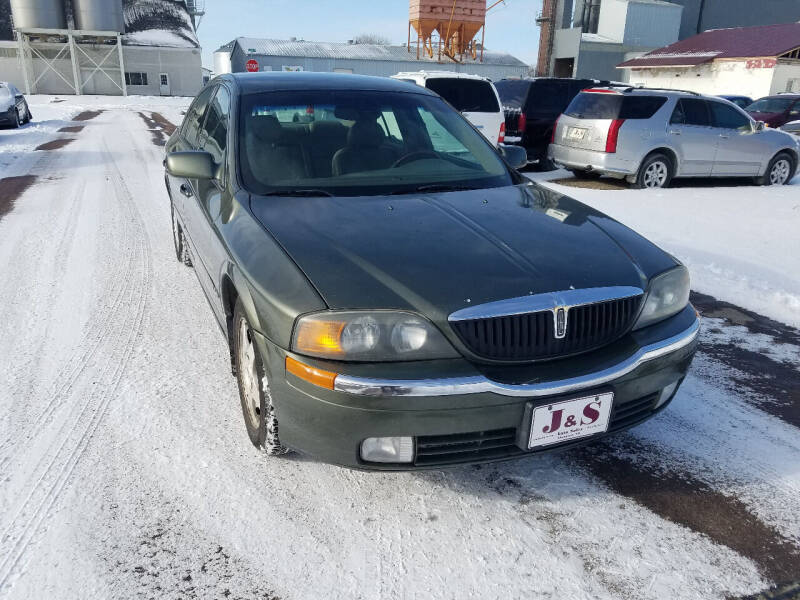 2000 Lincoln LS for sale at J & S Auto Sales in Thompson ND