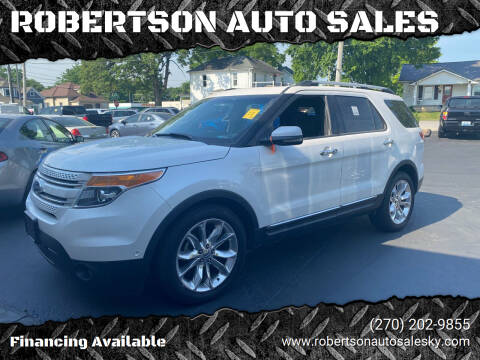 2011 Ford Explorer for sale at ROBERTSON AUTO SALES in Bowling Green KY
