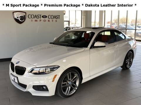 2018 BMW 2 Series for sale at Coast to Coast Imports in Fishers IN