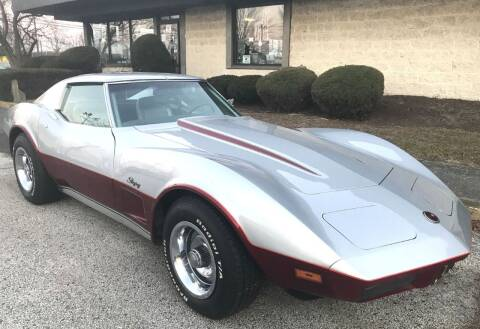 1974 Chevrolet Corvette for sale at Black Tie Classics in Stratford NJ