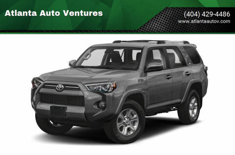 2021 Toyota 4Runner for sale at Atlanta Auto Ventures in Roswell GA