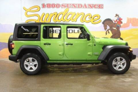 2019 Jeep Wrangler Unlimited for sale at Sundance Chevrolet in Grand Ledge MI
