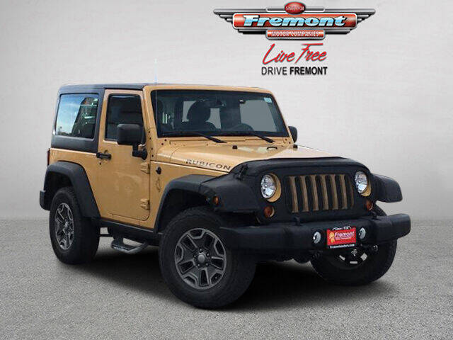 2013 Jeep Wrangler for sale at Rocky Mountain Commercial Trucks in Casper WY