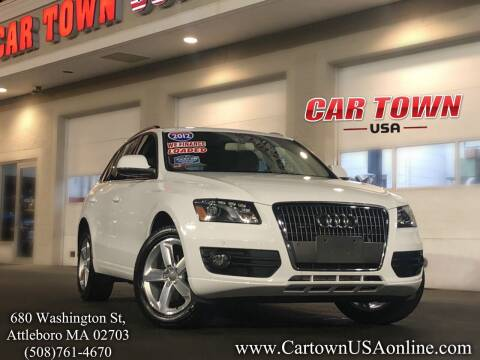 2012 Audi Q5 for sale at Car Town USA in Attleboro MA